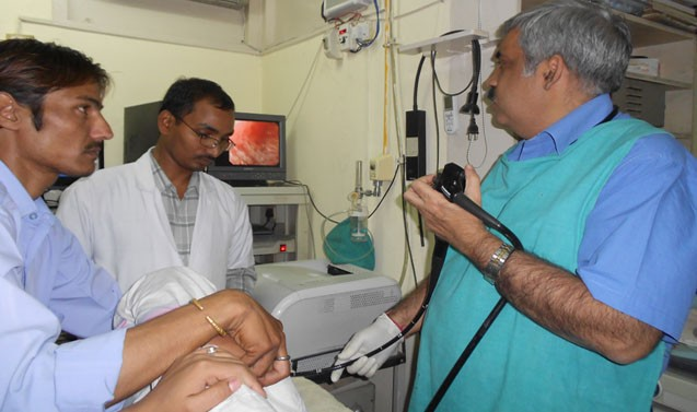 UGI Endoscopy in Progress